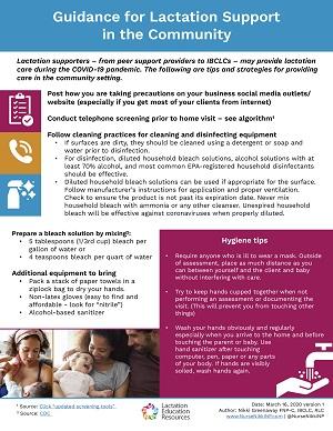 Fact Sheet Home Visits