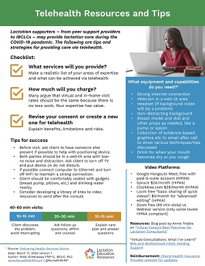 Fact Sheet Telehealth