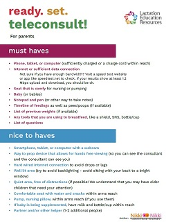 Ready Set Teleconsult - Parents
