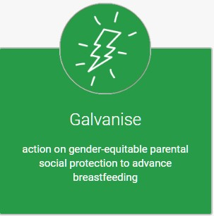 World breastfeeding week objective 4: Galvanise